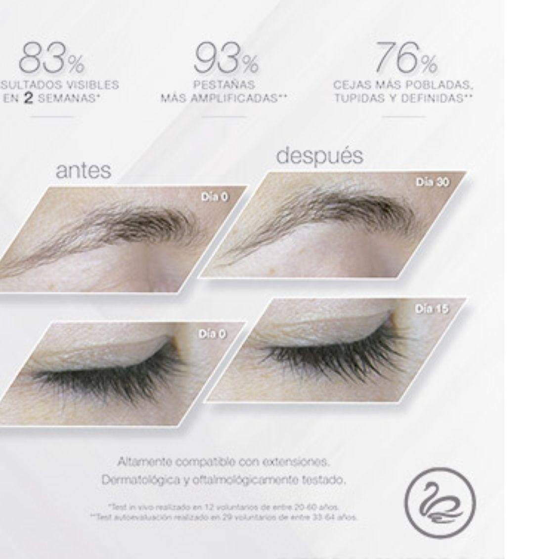 Sérum  Intensificador de Pestañas y cejas: Servicios y tratamientos de Centro de Estética Esmeralda Duc