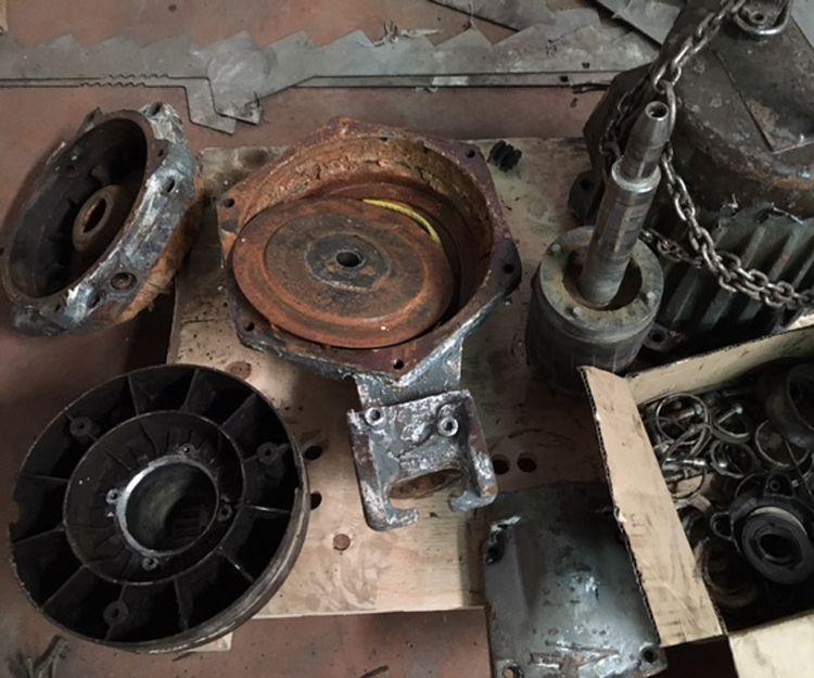 Reparaciones de maquinaria para bombeo