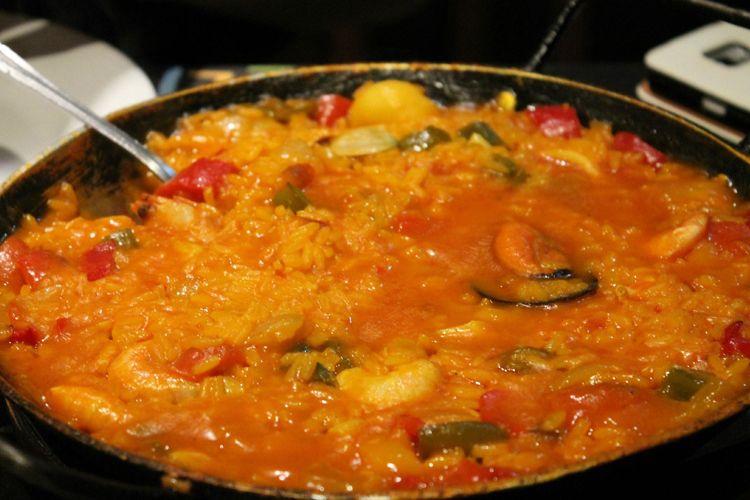 Paella en nuestro restaurante
