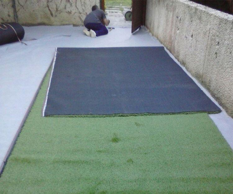 Instalación de césped artificial en Vizcaya