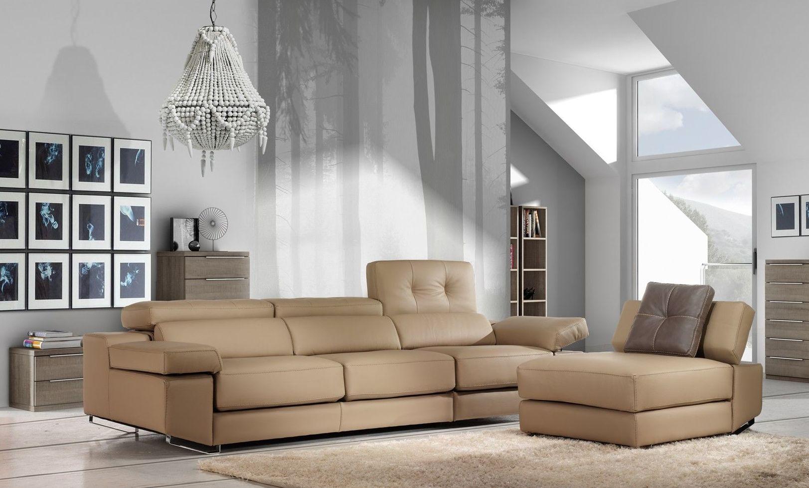 Sofa chaiselonge partida: Nuestros muebles de Muebles Aguado
