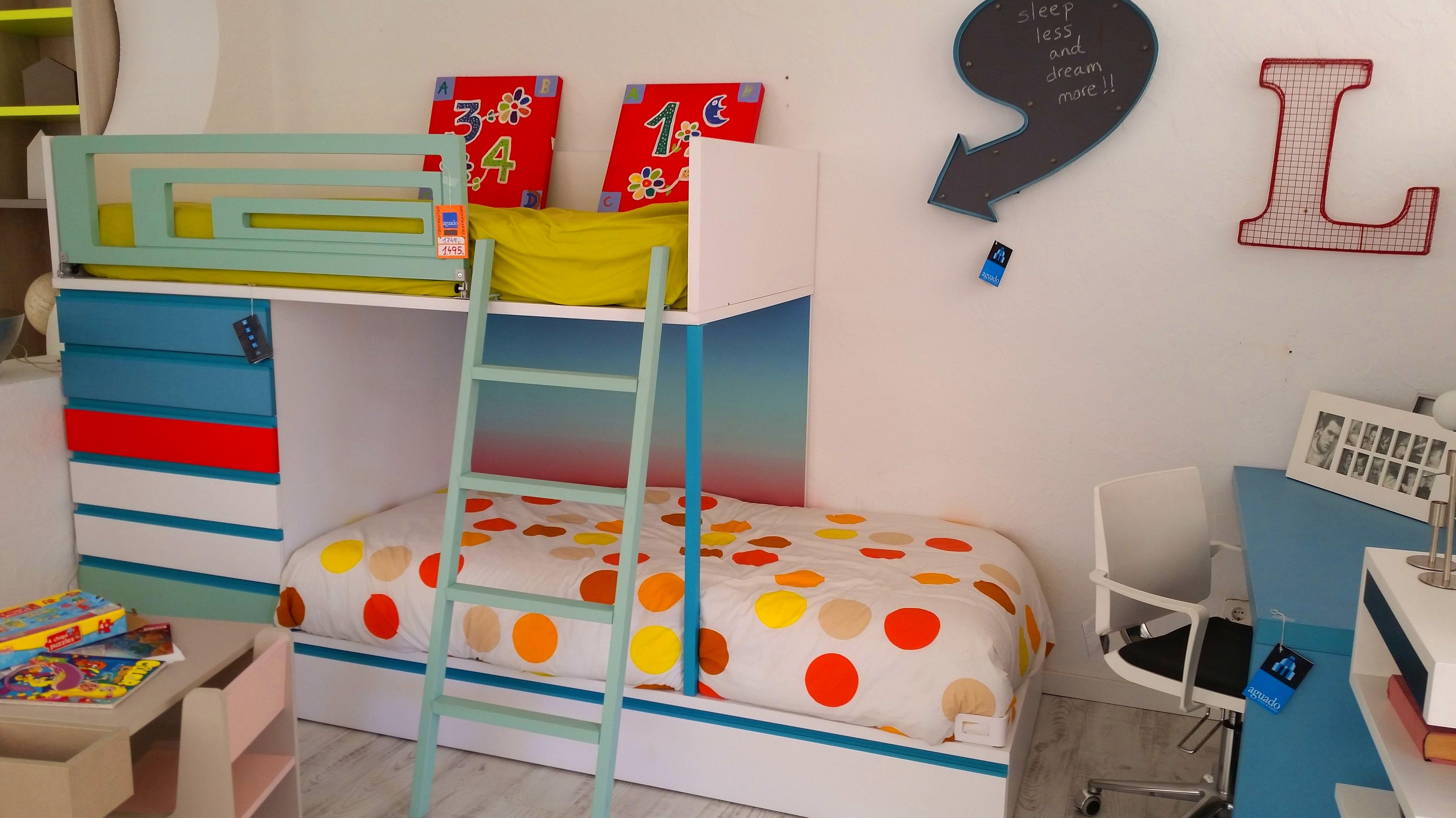 Litera cama Tren: Nuestros muebles de Muebles Aguado