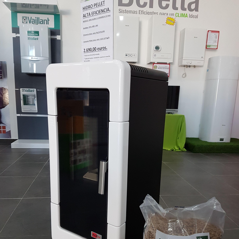 Instalación Hidro Pellet en Madrid y Toledo