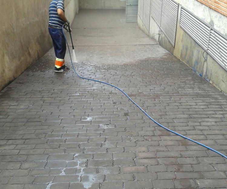 Pavimentación de exterior en Barcelona