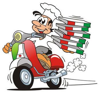 Reparto de pizzas en Almería