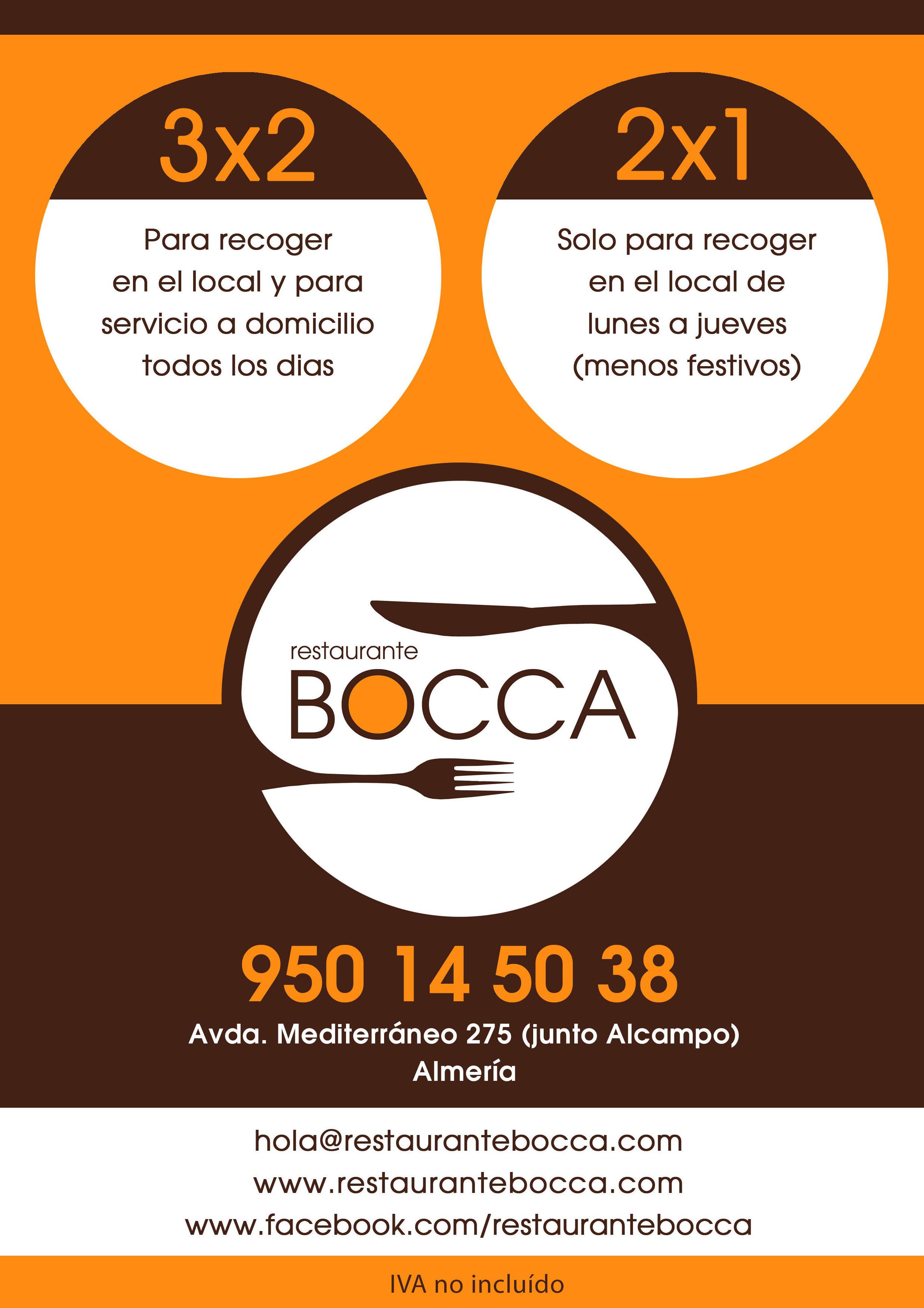 pizzas a domicilio en Huercal de Almería