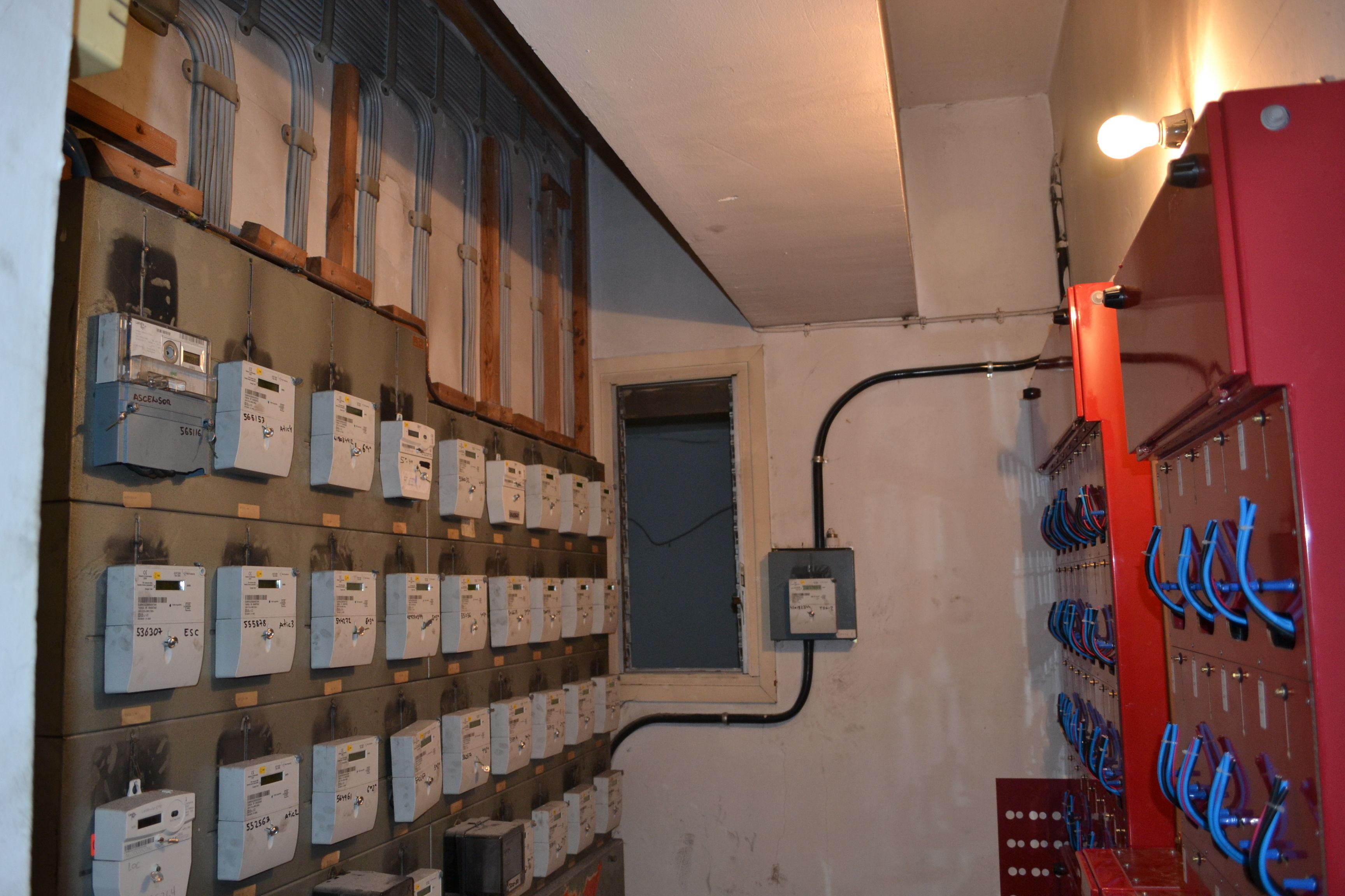 Renovación de centralización de contadores en Barcelona