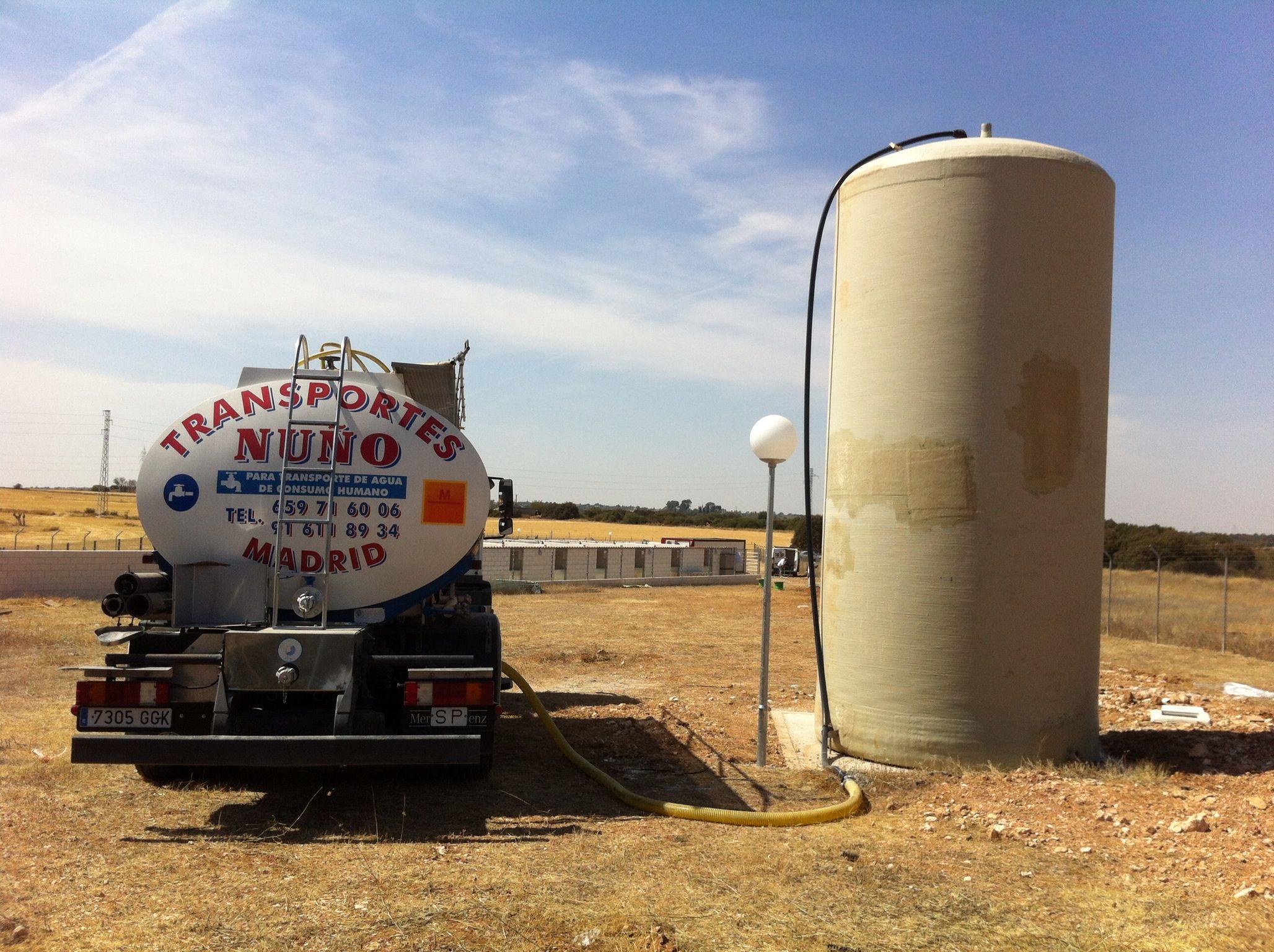 Foto 3 de Abastecimiento de agua en Alcorcón | Transportes Nuño