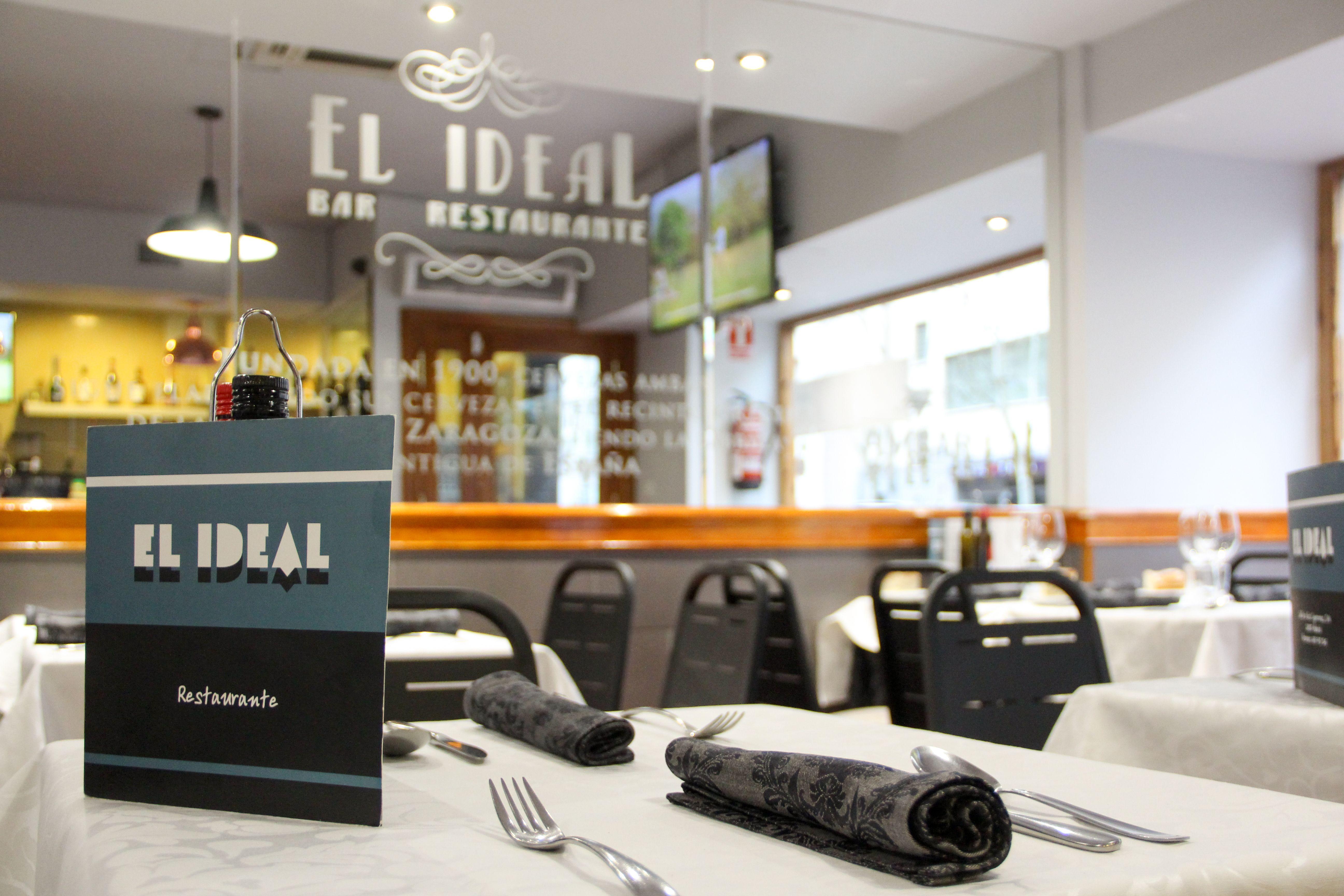 Restaurante El Ideal en Madrid centro