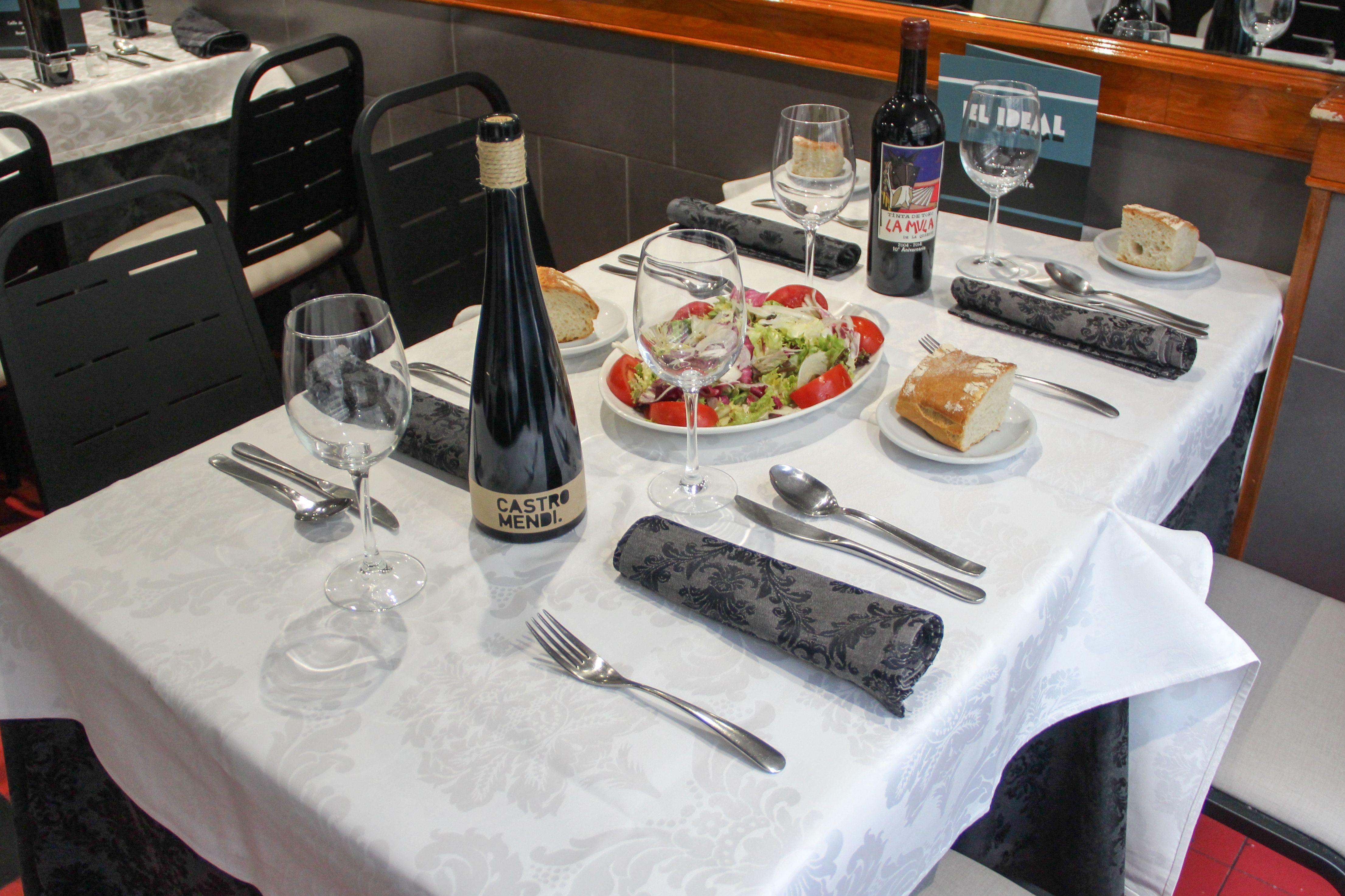 El Ideal cuenta con platos ideales para deleitar el paladar de todos y cada uno de nuestros clientes