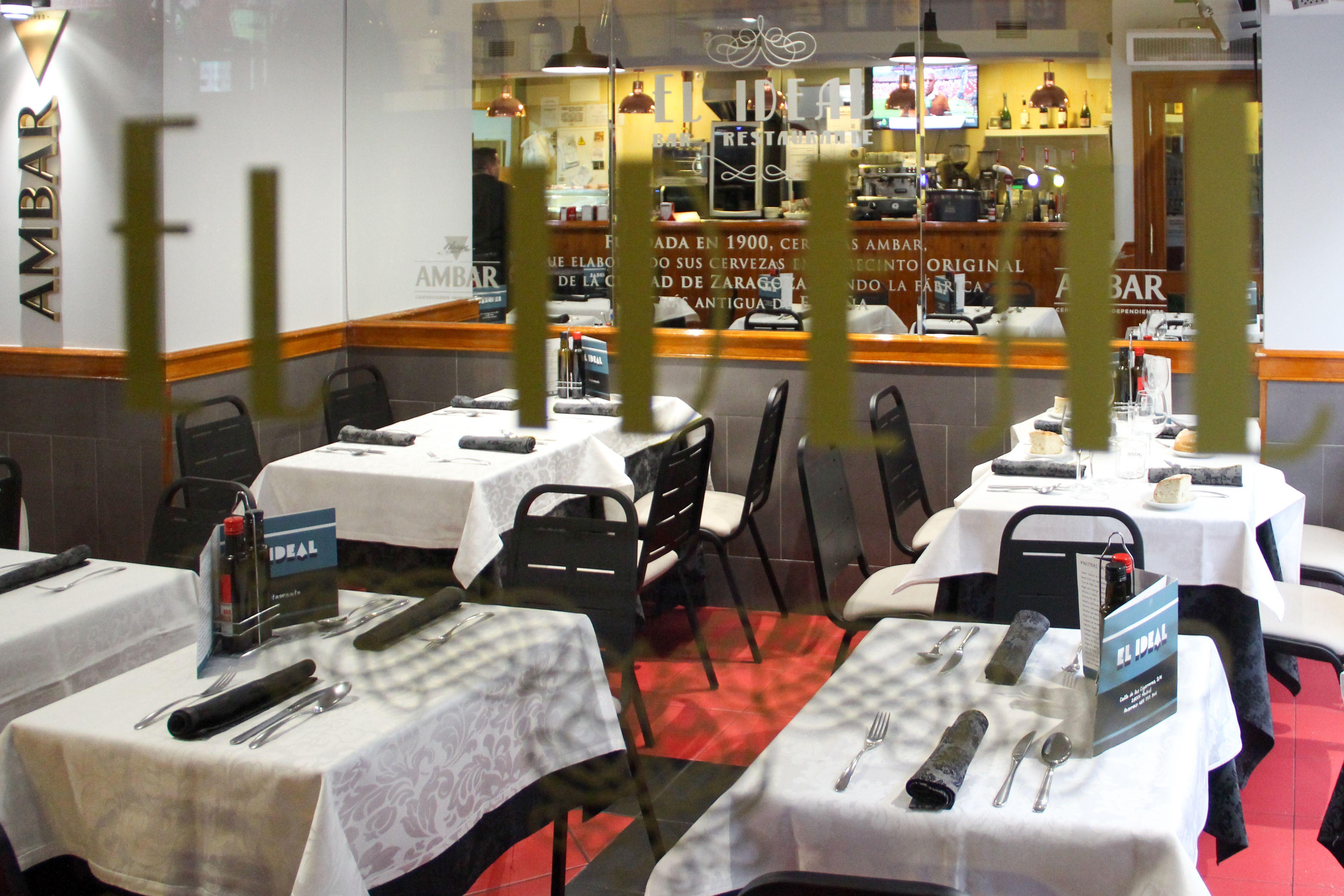 Restaurante El Ideal en Madrid