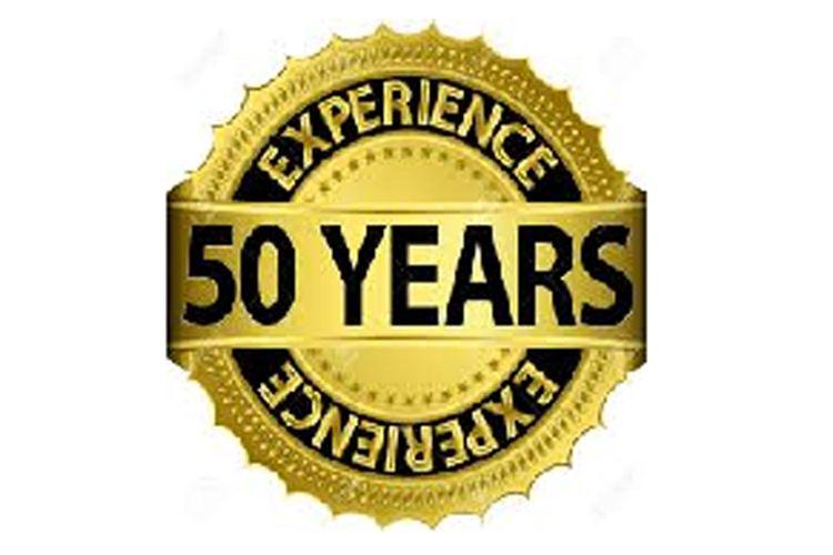 50 años de experiencia