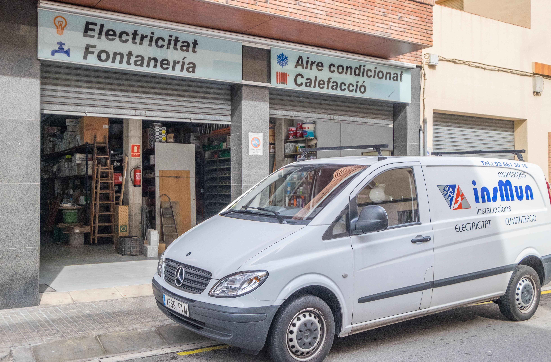 Fontanería, instalación de redes informáticas, calefacción, energías renovable...