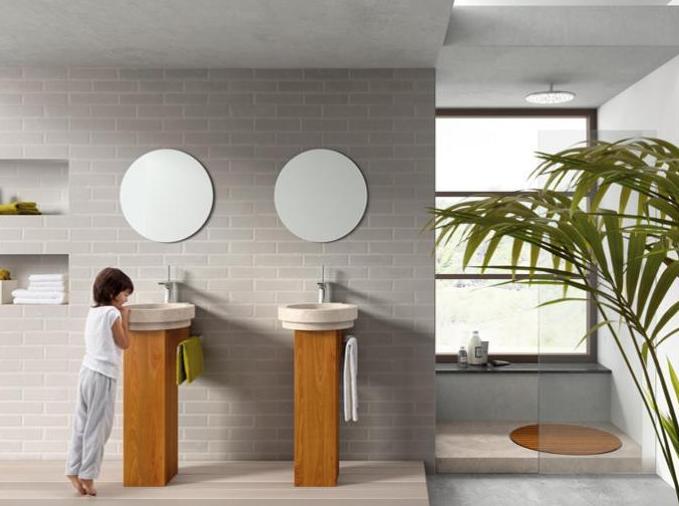 Diversidad de diseño de baños