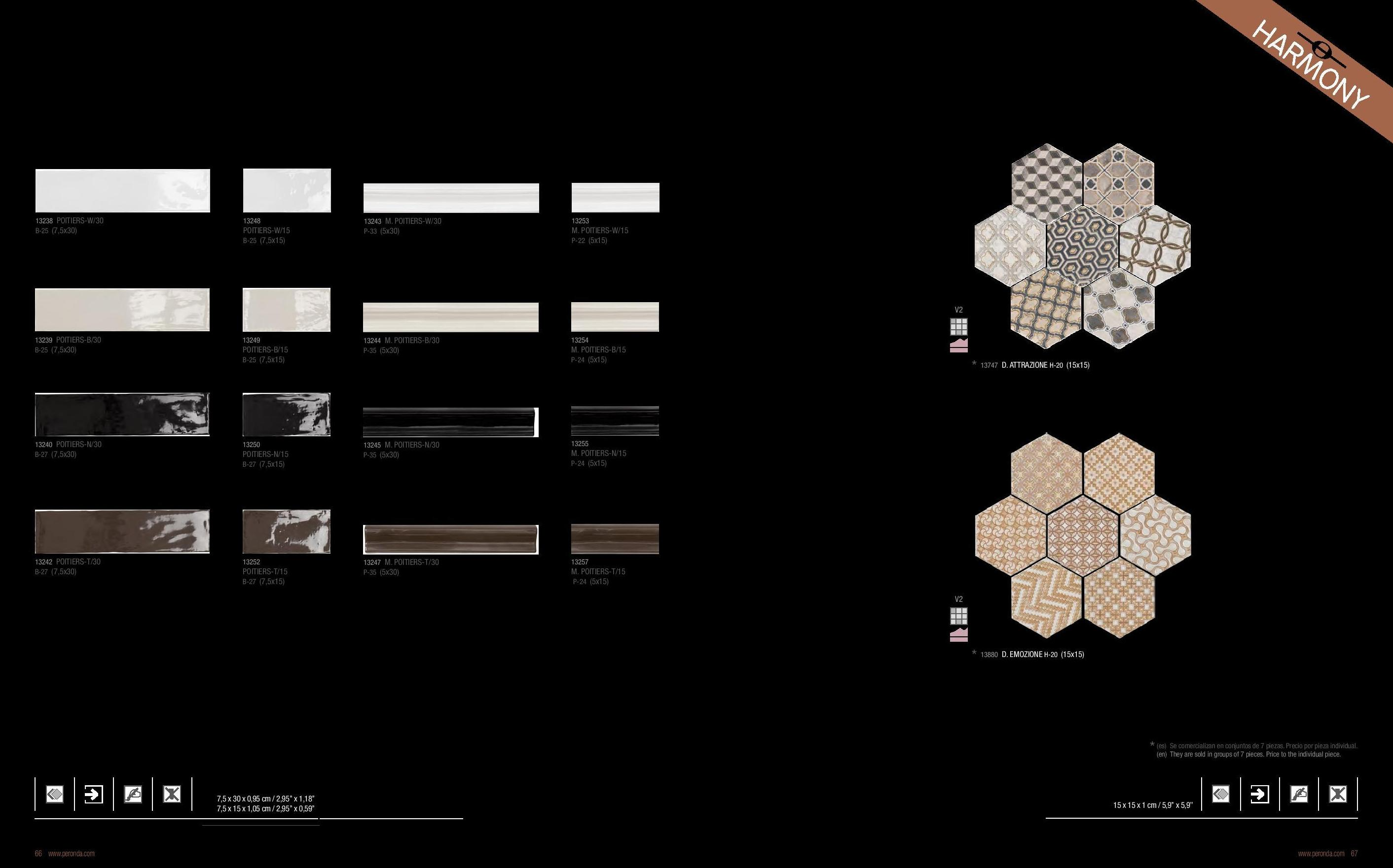Diferentes tipos de mármol