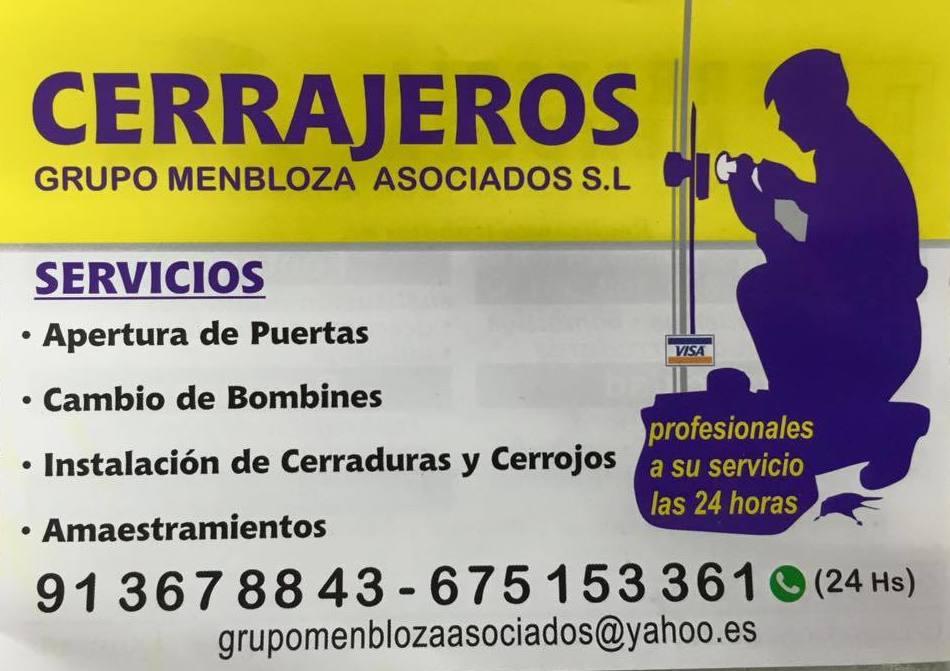 OFRECEMOS SERVICIO DE CERRAJERIA