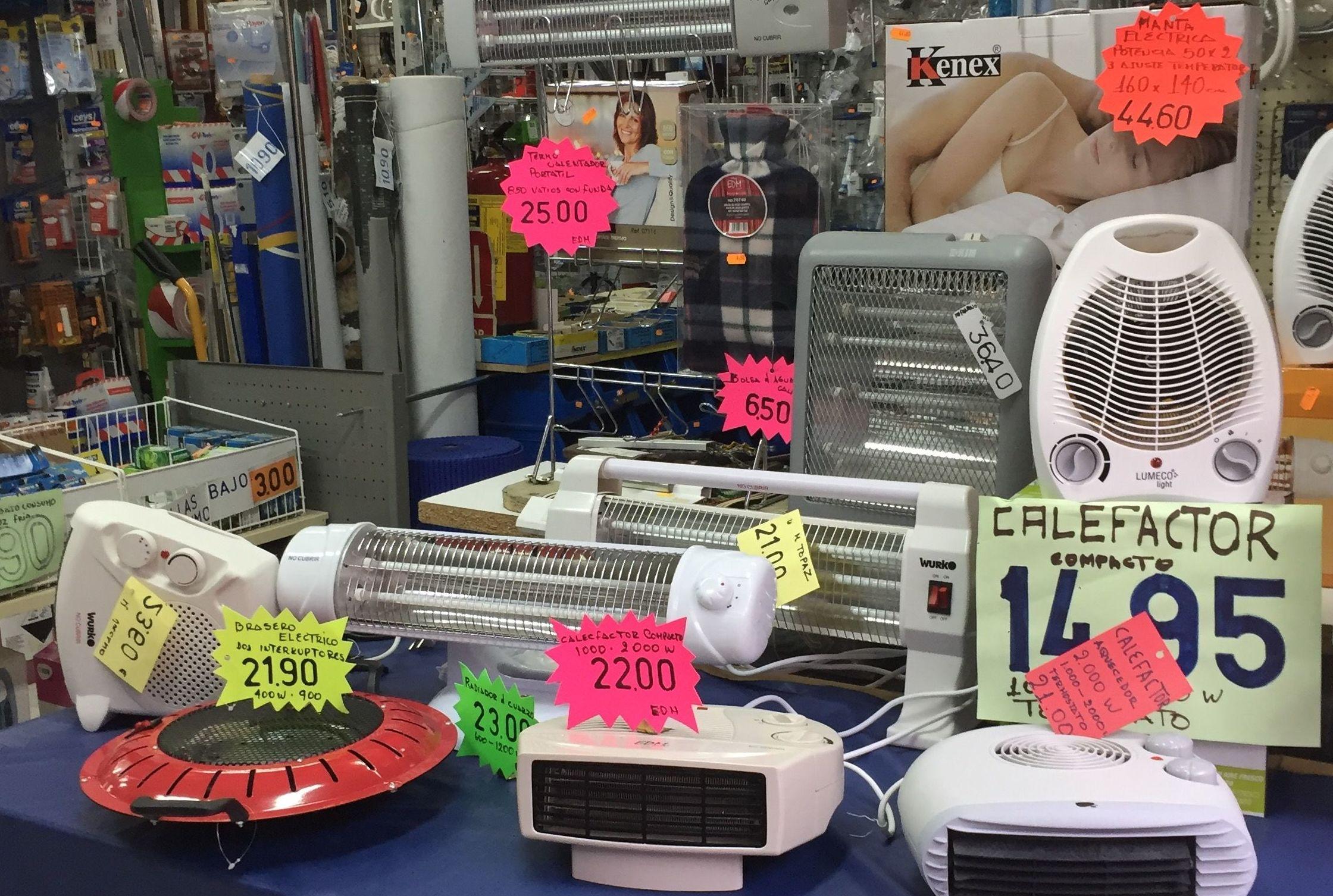 Calefacción : Productos y servicios de Ferretería Mendoza