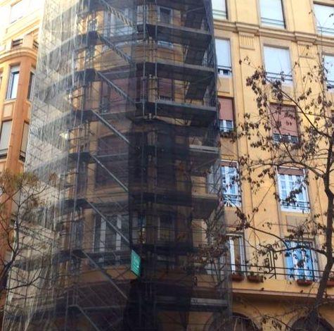 Foto 91 de Rehabilitación y pintura de fachadas en  | Fachadas Monzón