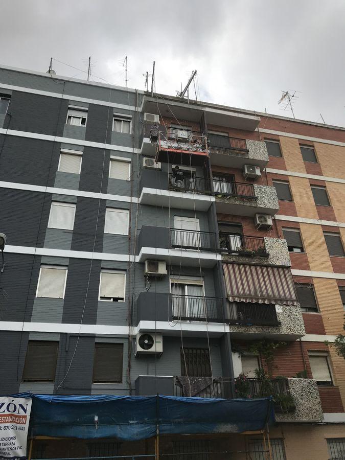 Cambio de bajantes de comunidades en Valencia