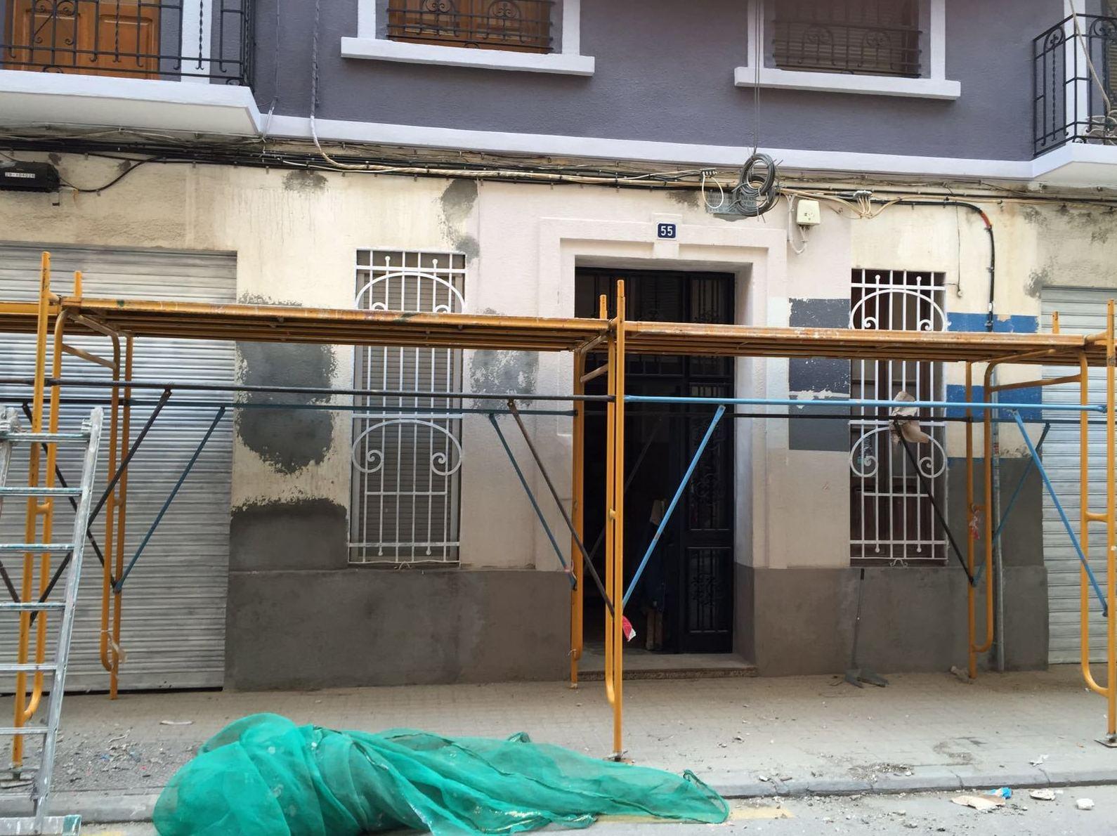 Limpieza de fachadas en Valencia