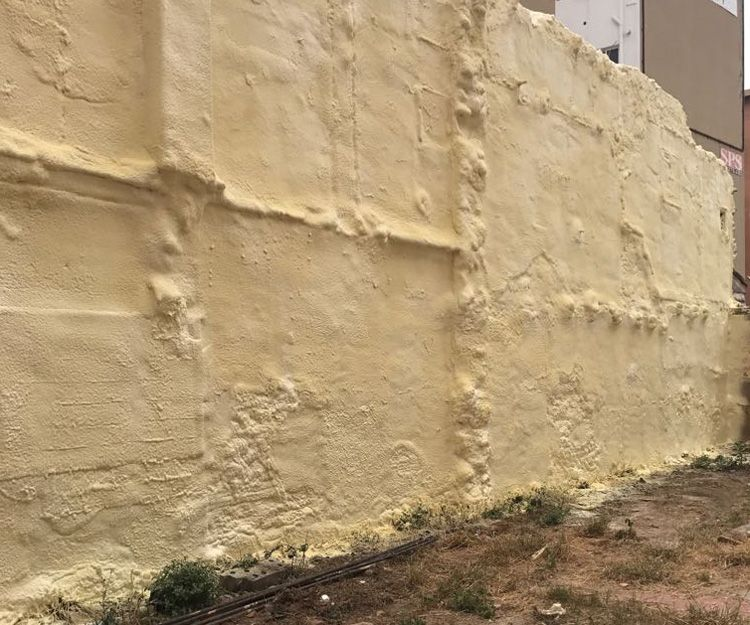 Trabajos de rehabilitación de fachadas en Valencia - Después
