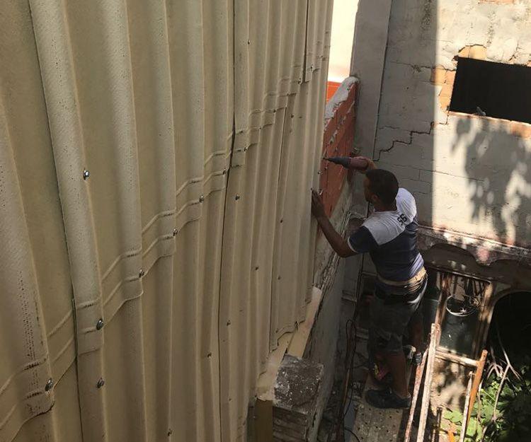 Trabajos de aislamiento de fachadas en Valencia