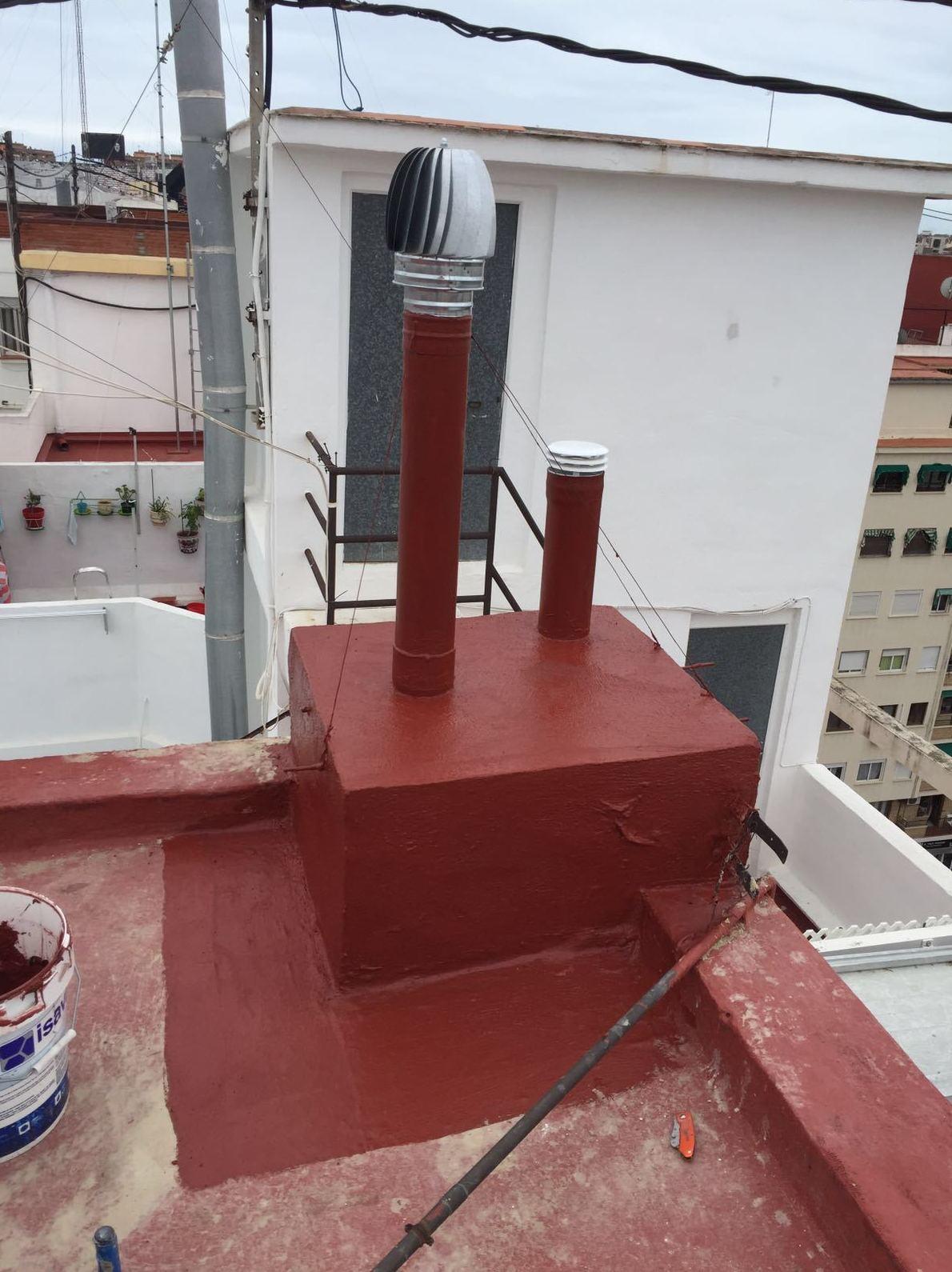 Pintura de tejados