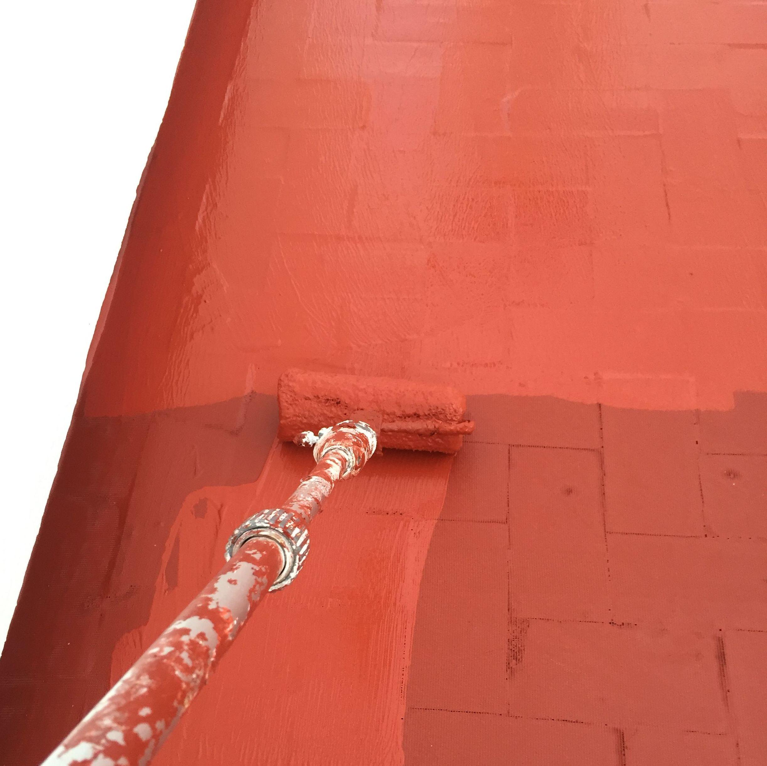 Trabajos de pintura de suelo