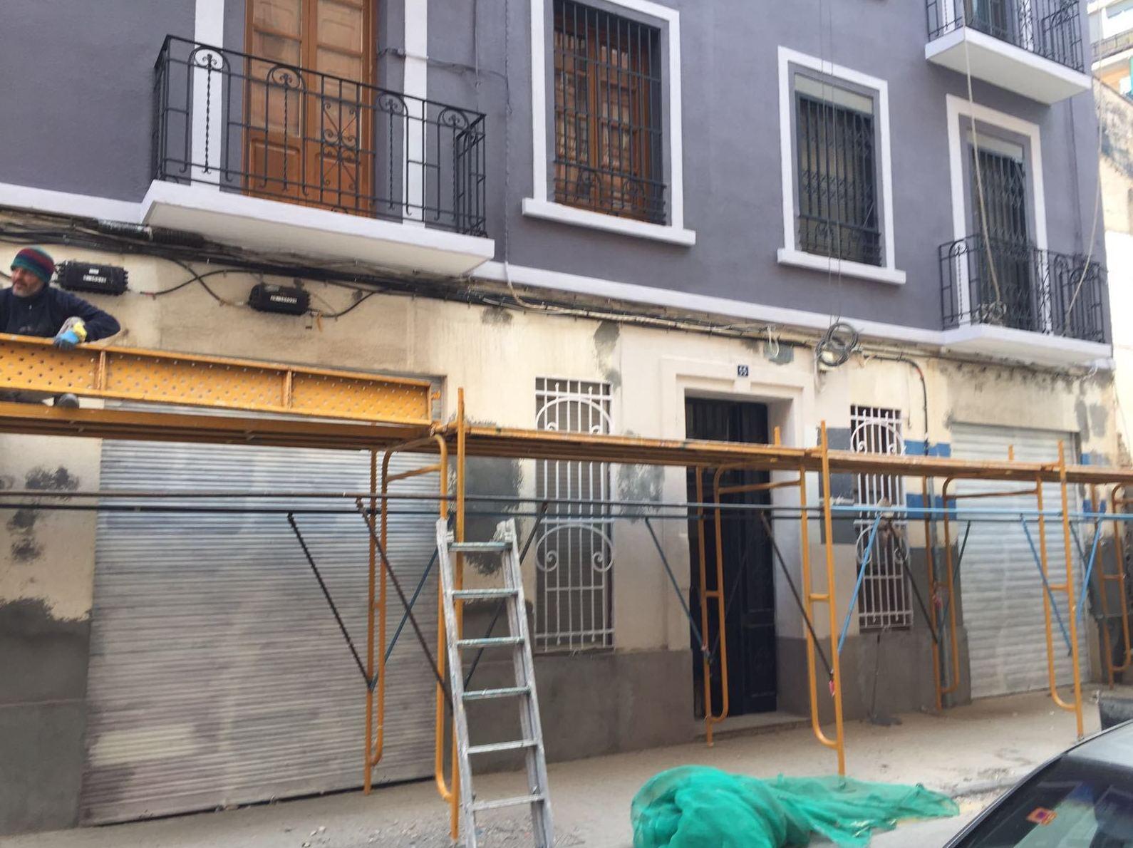Servicio de rehabilitación de fachadas