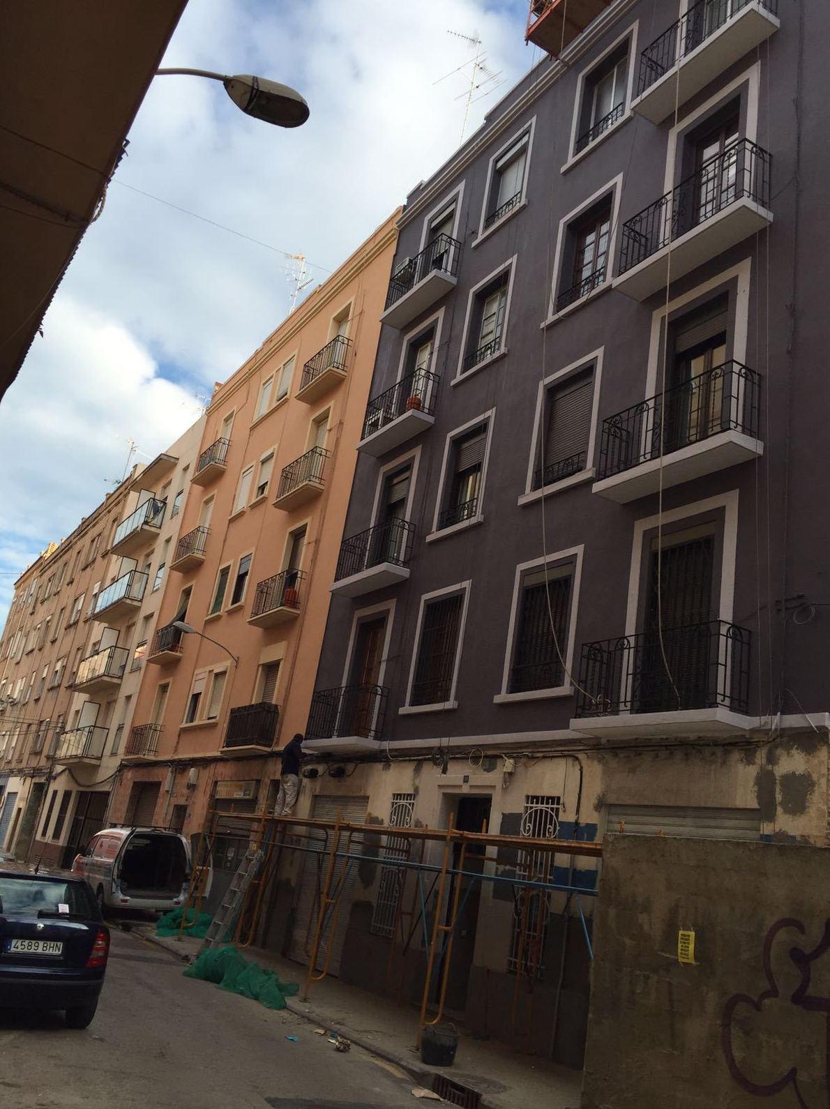 Servicio de mantenimiento de fachadas