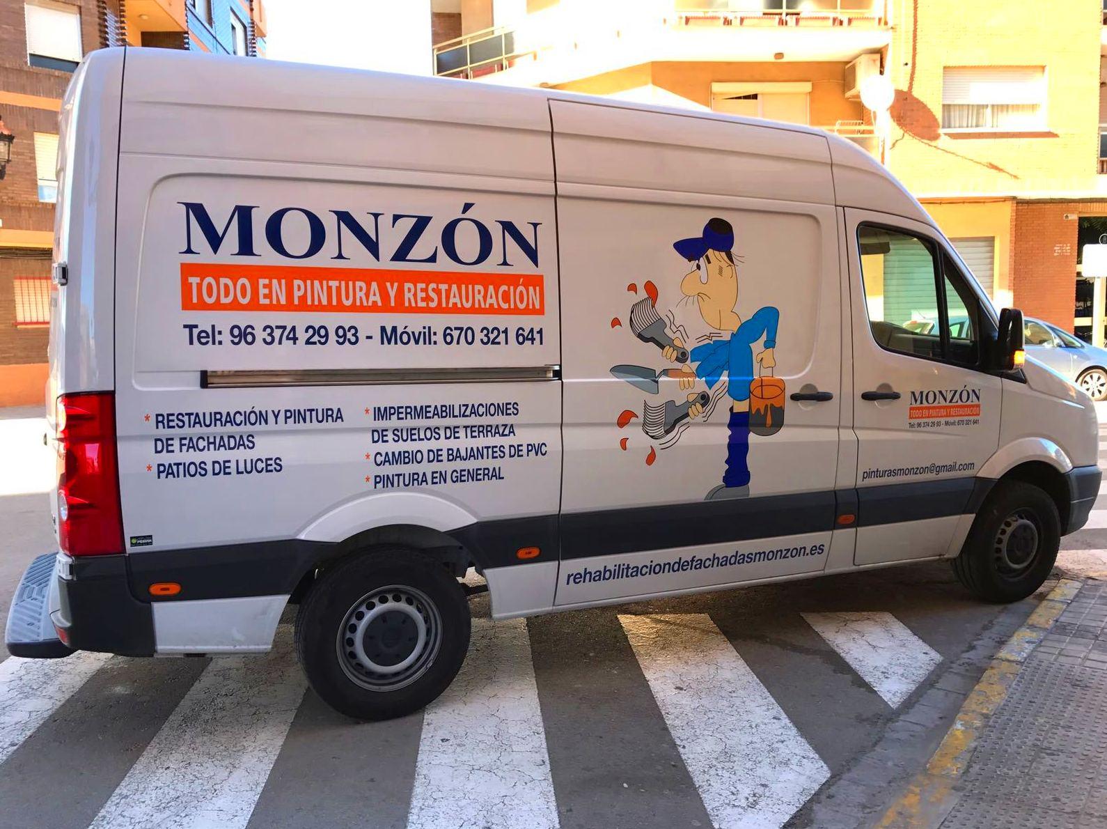 Pintura y restauracion Monzon