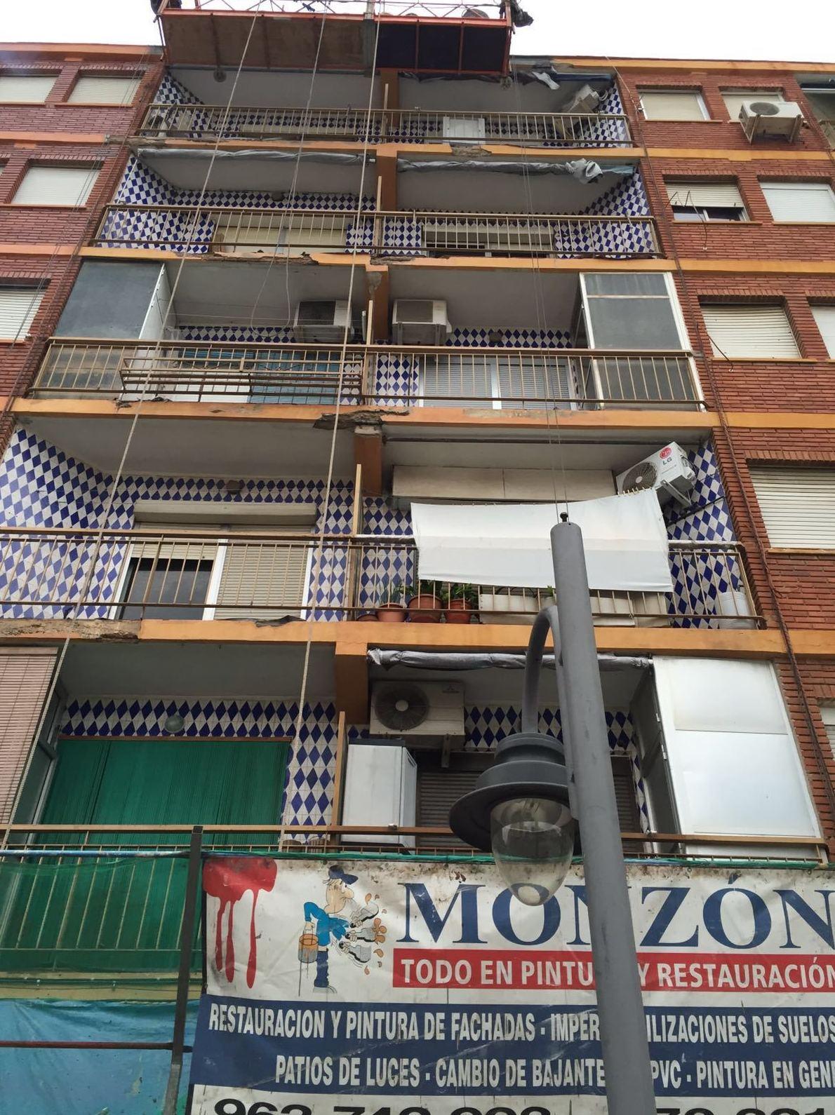Restauración y pintura de fachadas