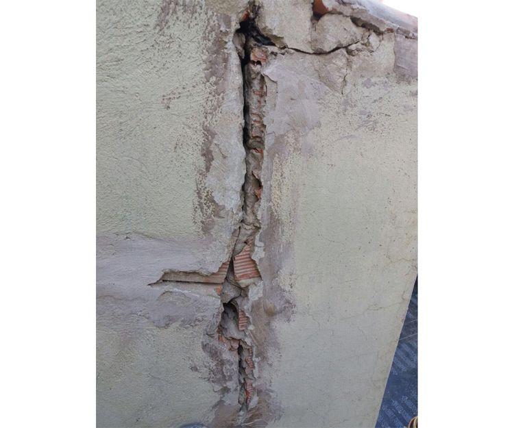 Reparación de grietas en fachadas en Valencia
