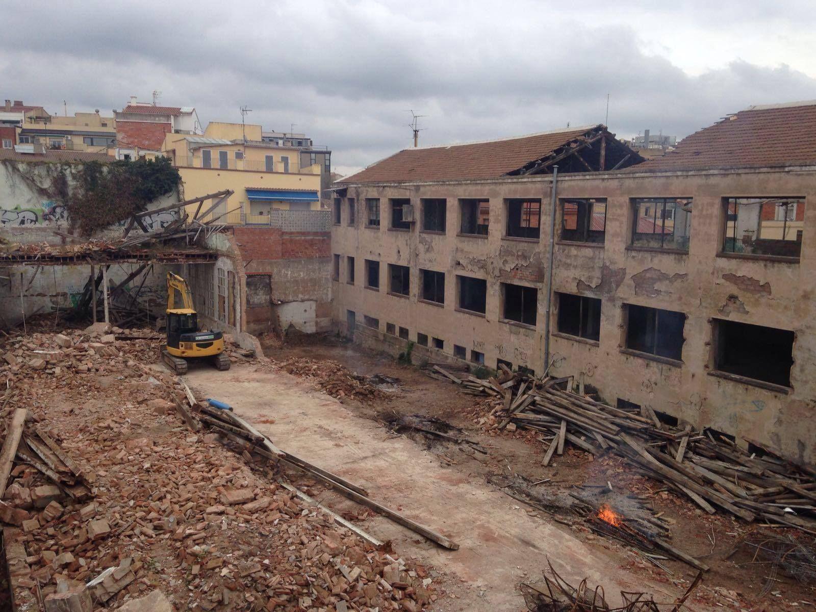 Derribos y demoliciones Terrassa