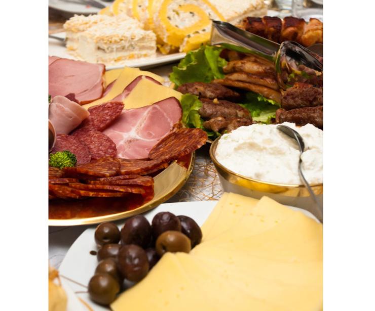 Comida tradicional Centroeuropea.