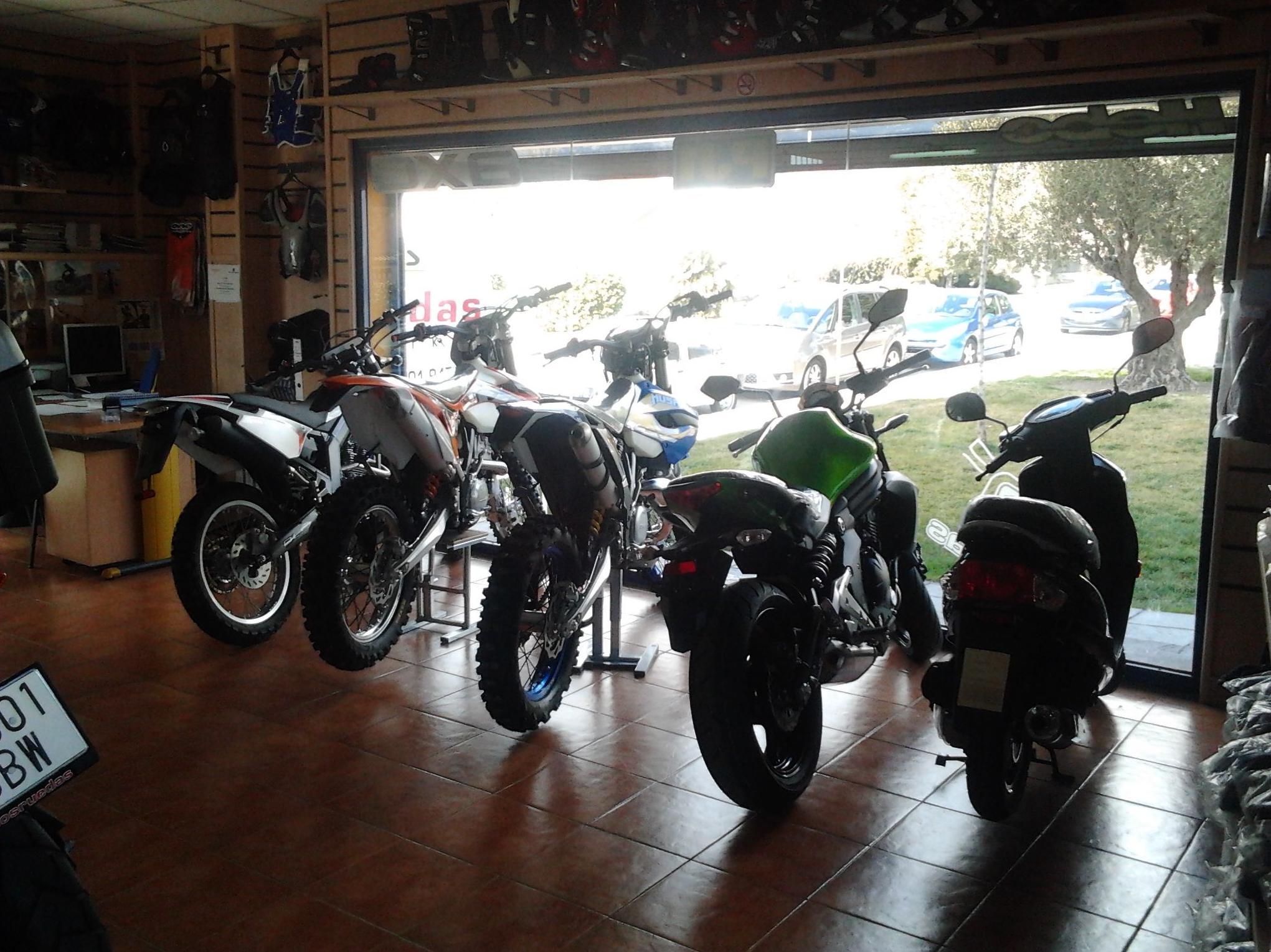 Venta y reparación de motocicletas en Madrid