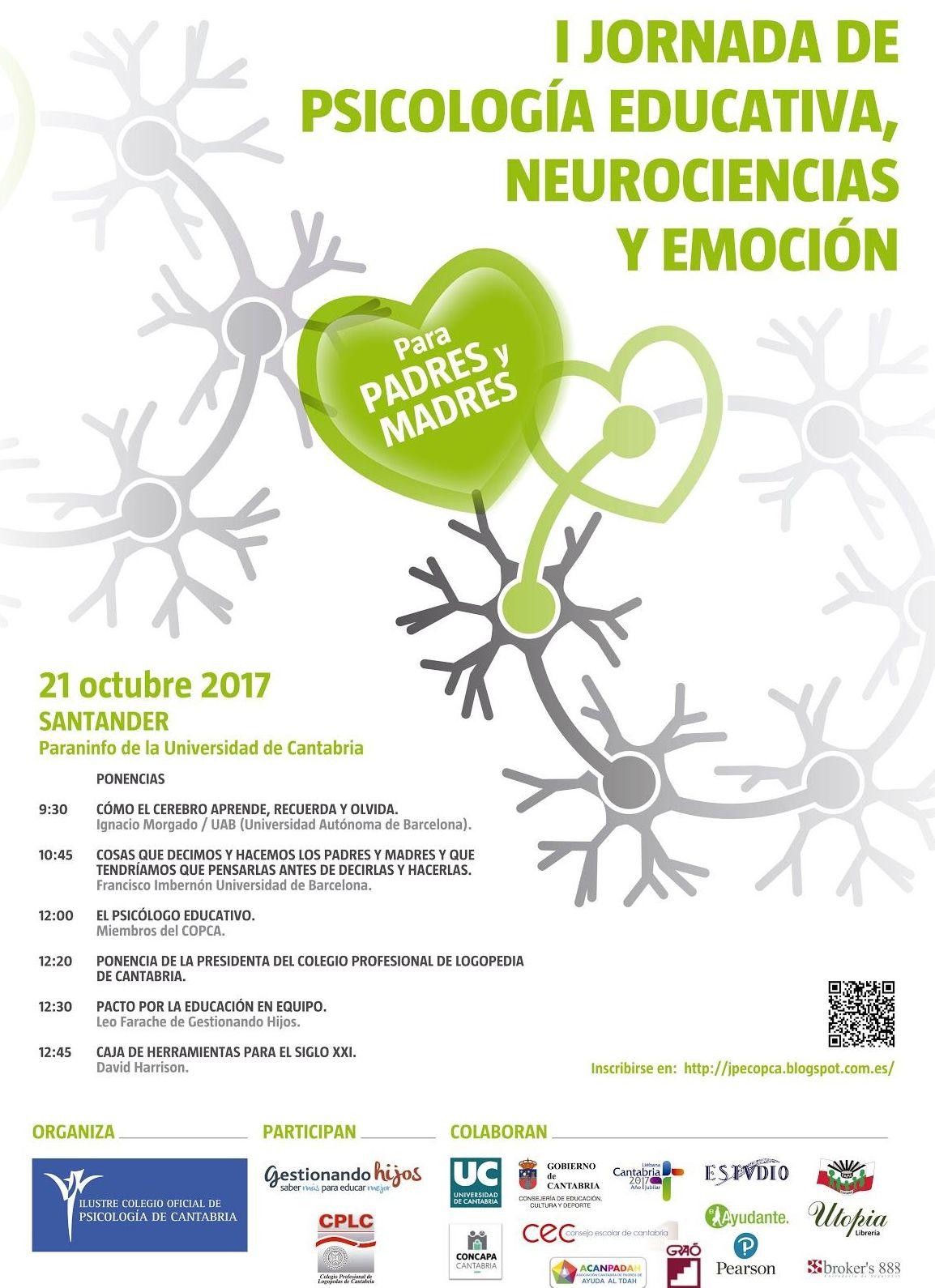 I Jornada de Psicología de Educación, Neurociencias y Emoción