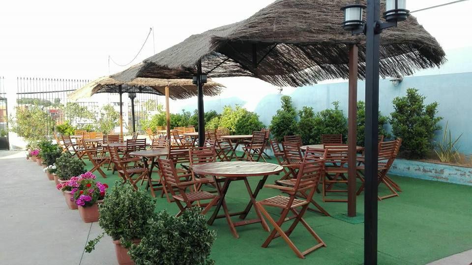 Restaurante con amplia terraza en Mérida