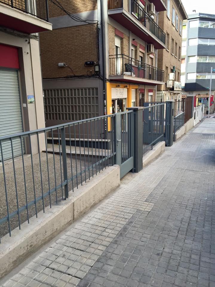 Obra civil en Zaragoza