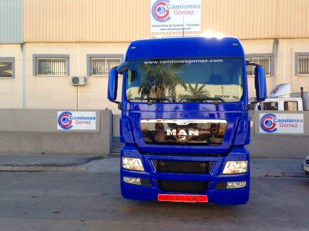 Venta camiones MAN, Camiones Gomez