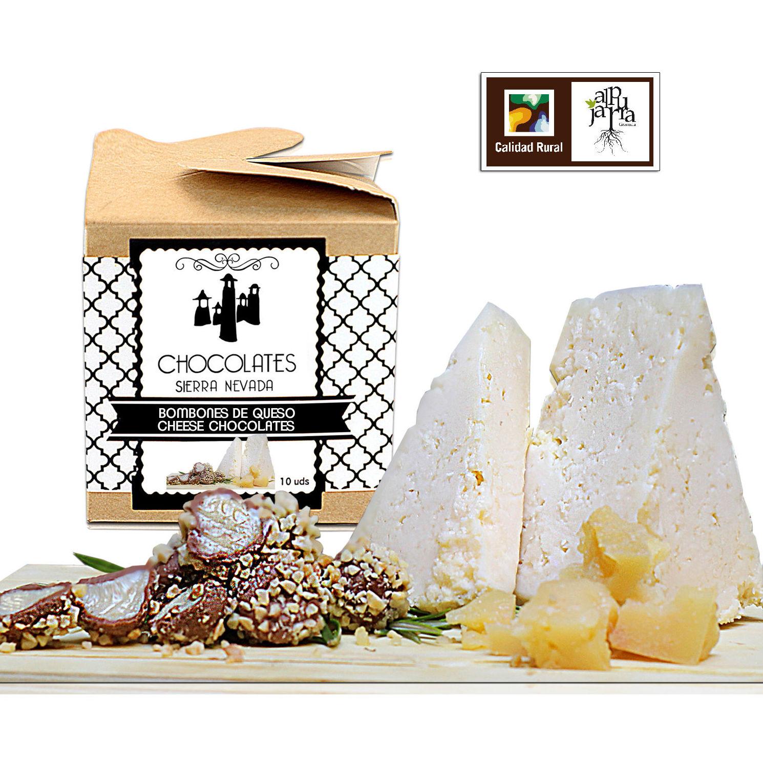 Bombones de queso: Nuestros productos de Chocolates Sierra Nevada