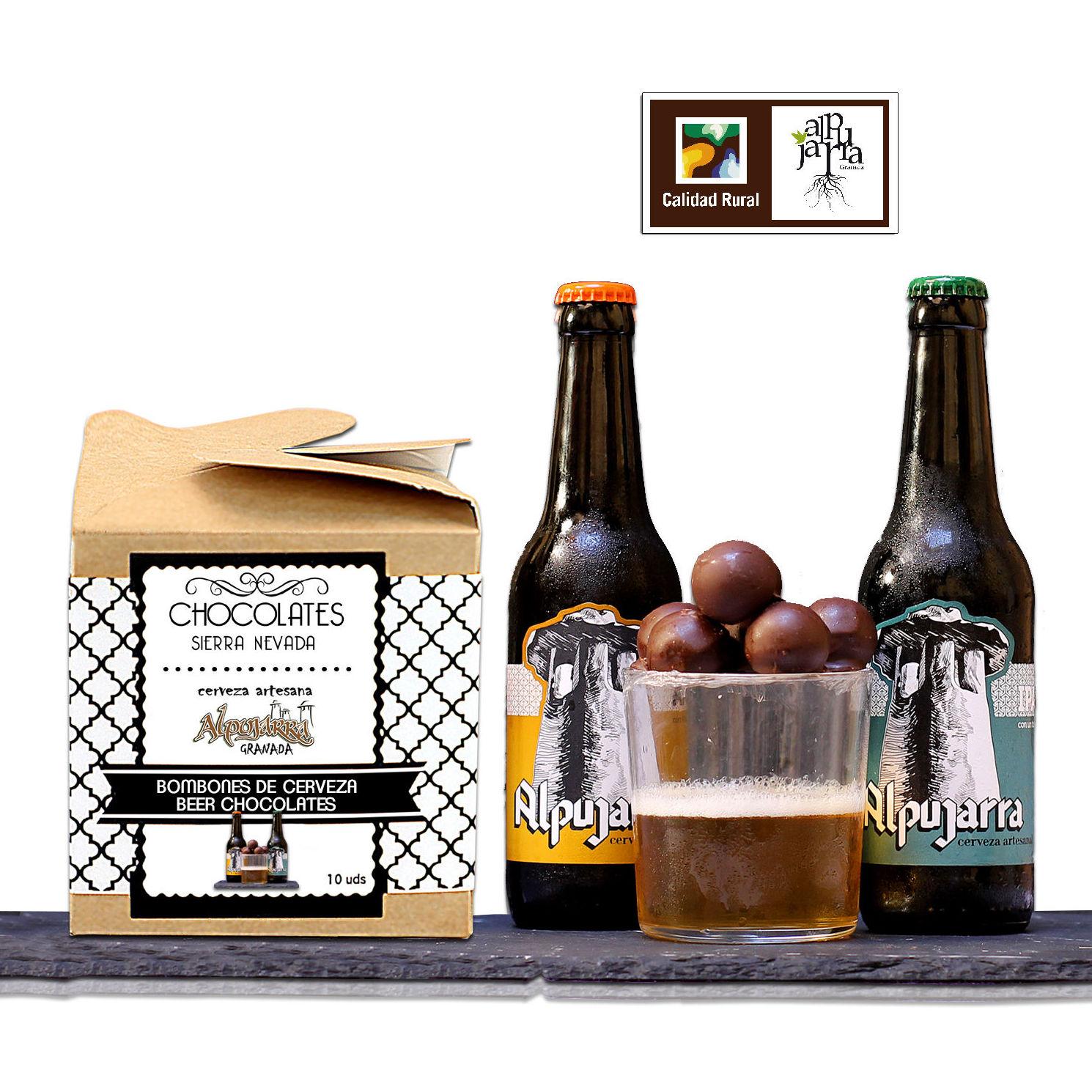 Bombones de cerveza: Nuestros productos de Chocolates Sierra Nevada