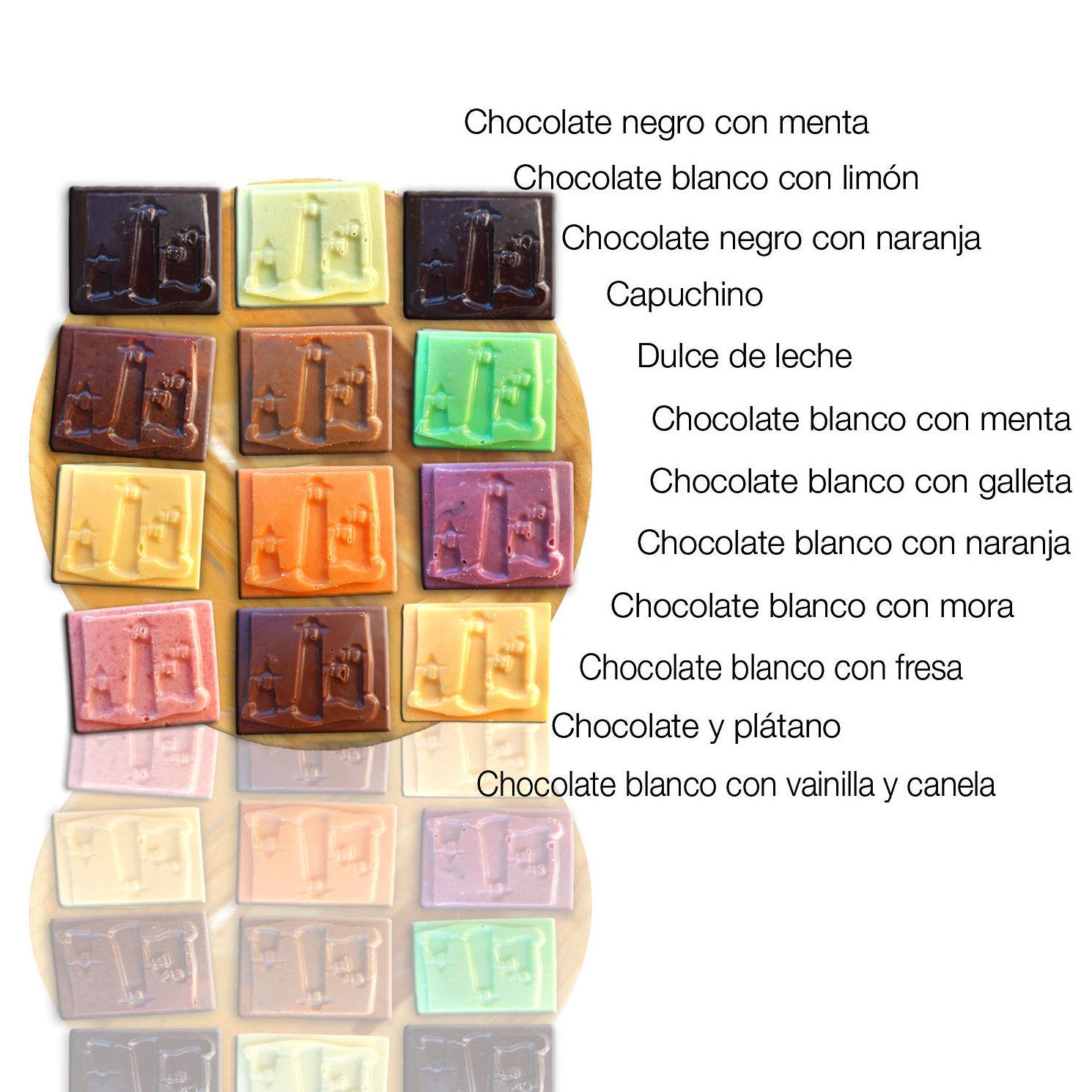 Surtido de mini tabletas gourmet granel: Nuestros productos de Chocolates Sierra Nevada
