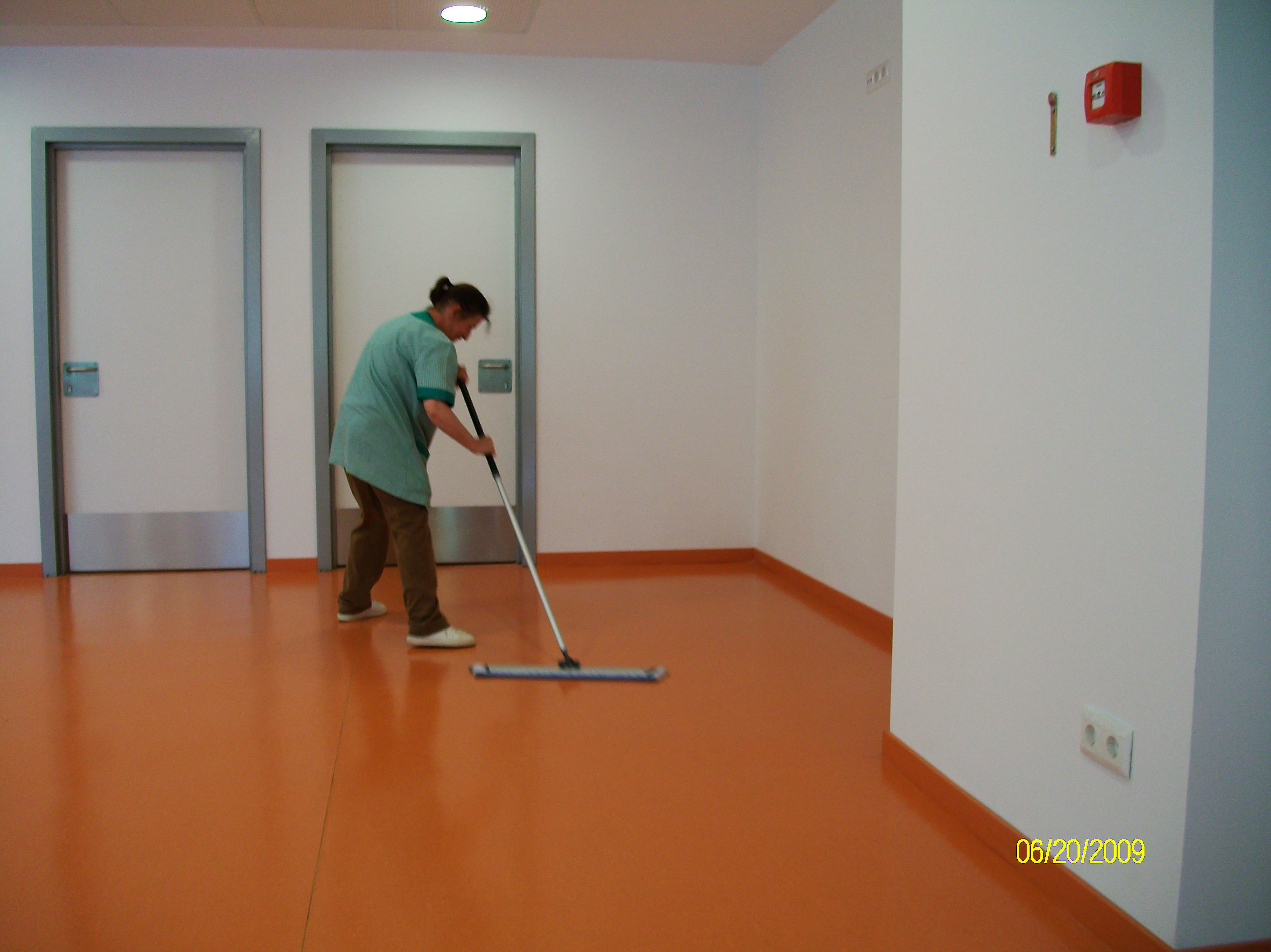 Limpieza de edificios en Vizcaya