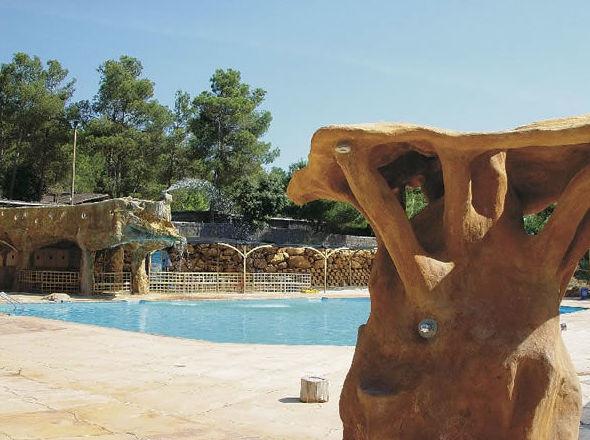 Camping con piscina en Navalón, Enguera, Valencia