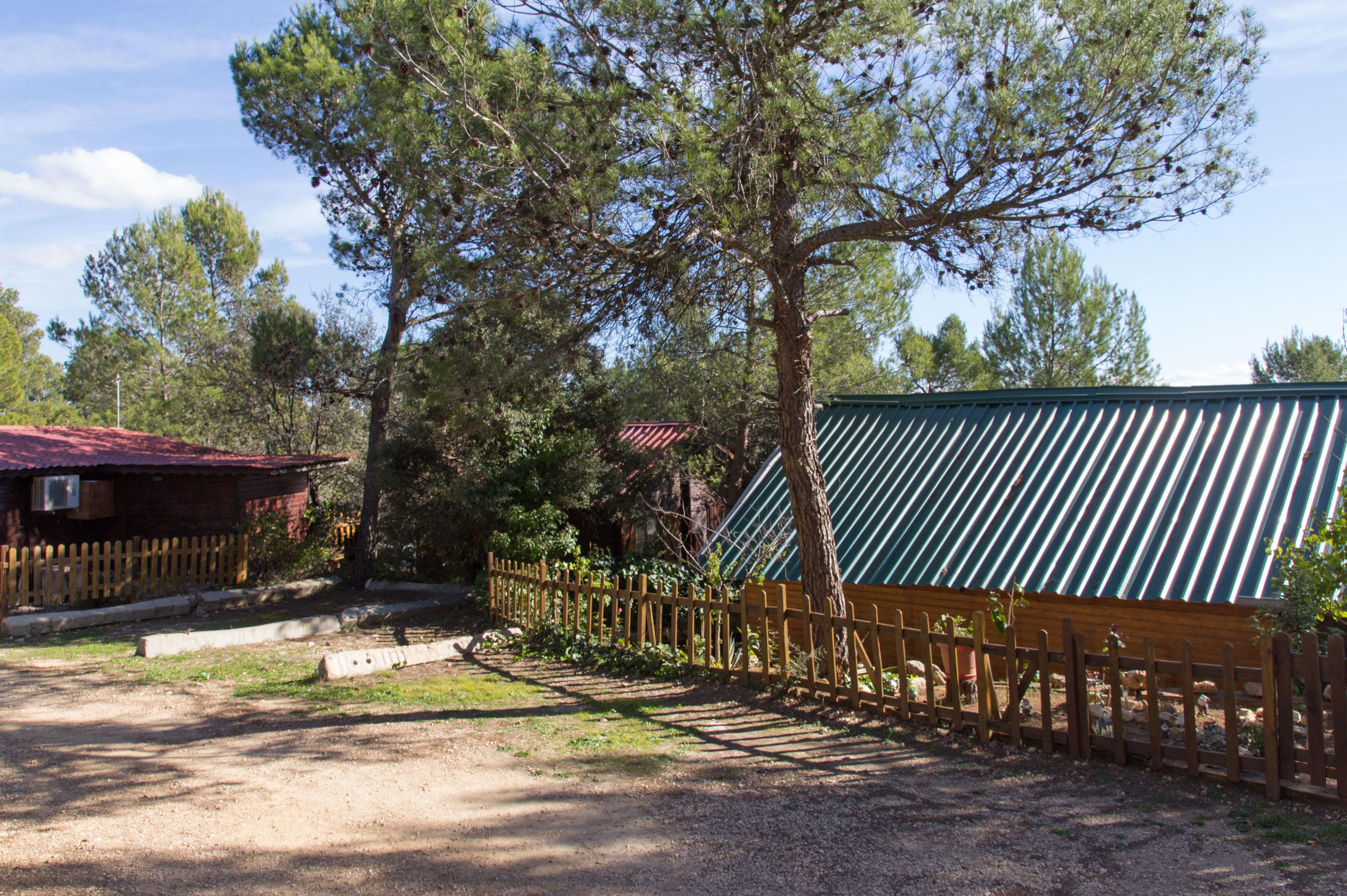 Camping de caravanas en Navalón, Enguera, Valencia
