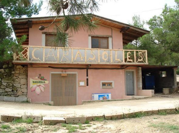 El Camping Los Carasoles cuenta con todos los servicios en Navalón, Enguera, Valencia