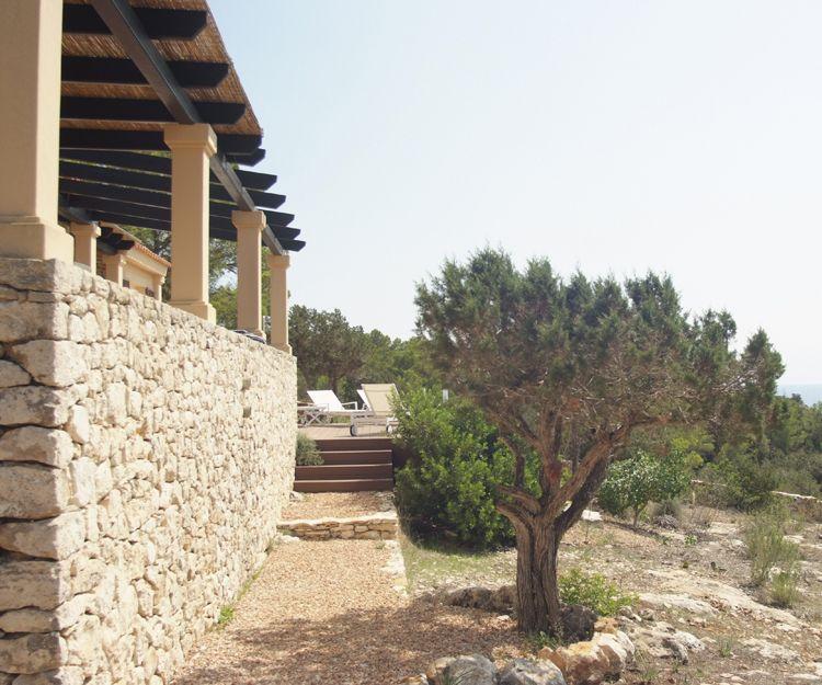 Villas en entornos rústicos en Ibiza