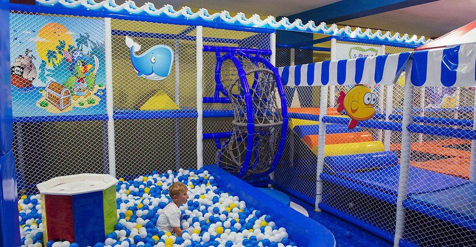 Parque infantil en Castelldefels
