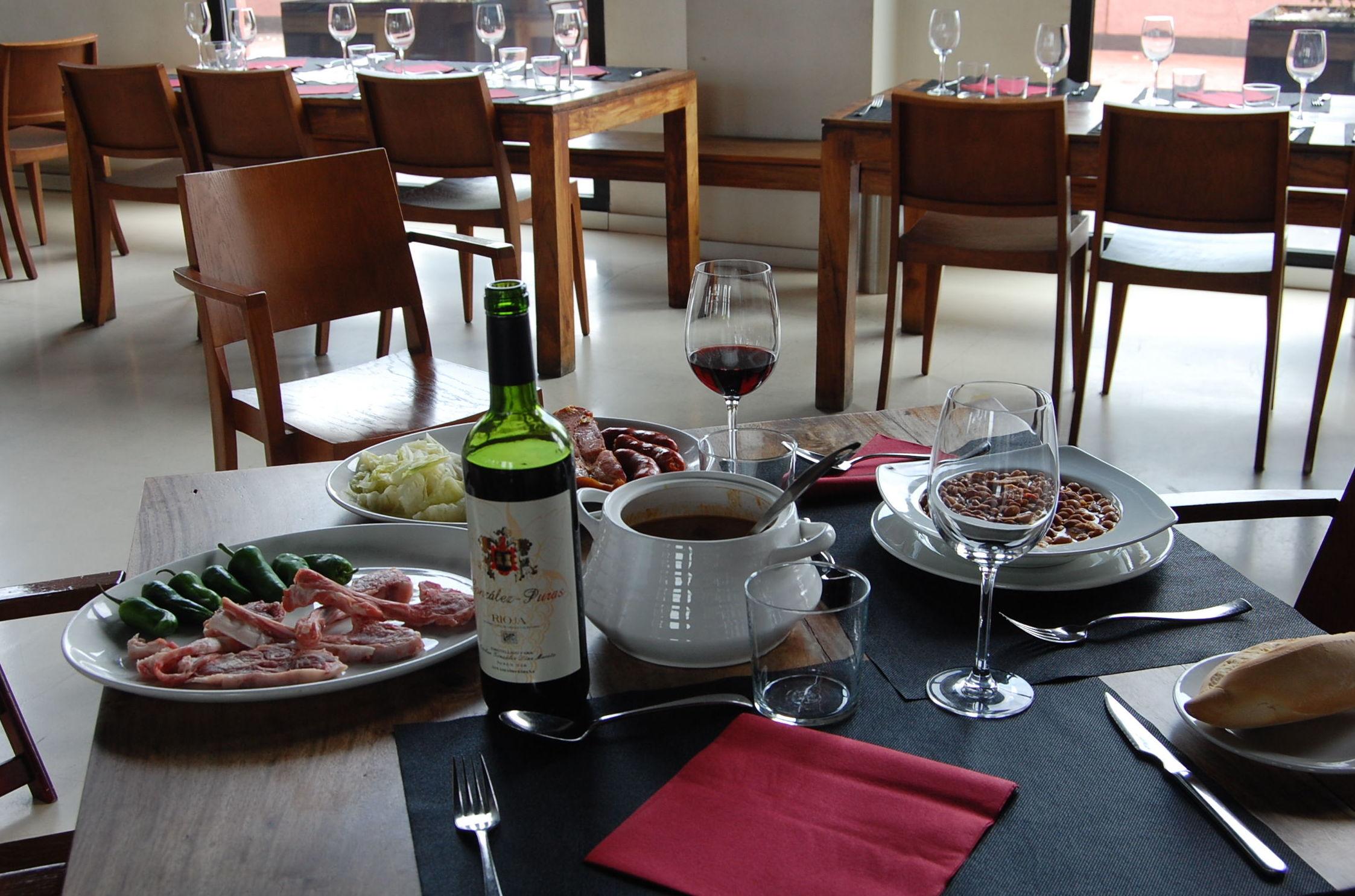 Un buen restaurante para reponer fuerzas en la Rioja Alta